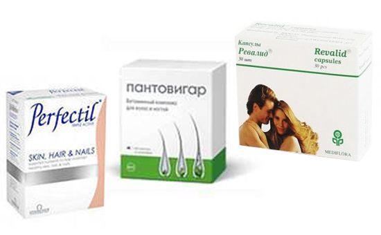 аптечні вітаміни для волосся