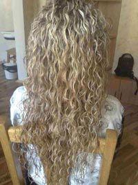 Біозавивка волосся фото
