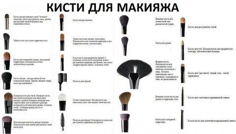 пензлі для макіяжу