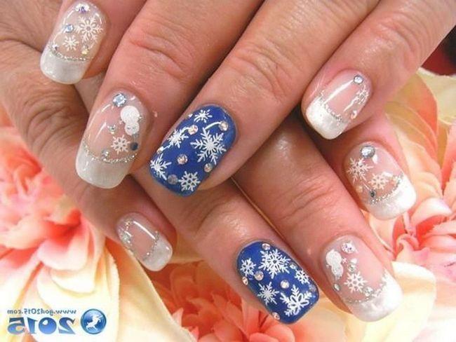 Новорічні дизайни / дизайн нігтів на новий рік / дизайн нігтів 2016 / манікюр в Архангельську / покриття гель-лаком в Архангельську