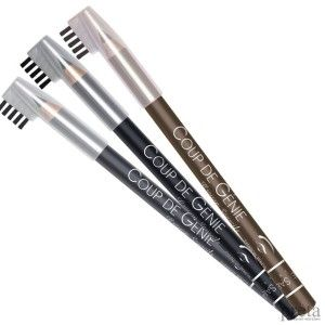 Як нафарбувати брови олівцем?