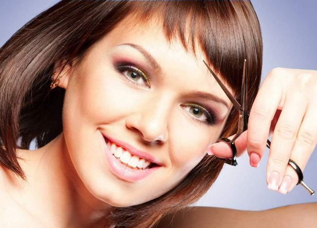 Як підстригти чубчик красиво і правильно