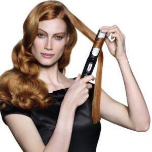 Як завити волосся праскою
