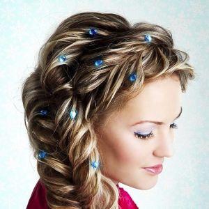 Коси на довге волосся - плетіння косичок