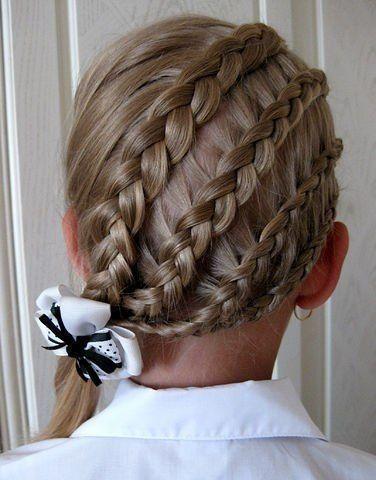Зачіски для дівчаток на випускний 2017 фото