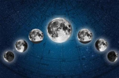 Місячний календар на червень місяць.