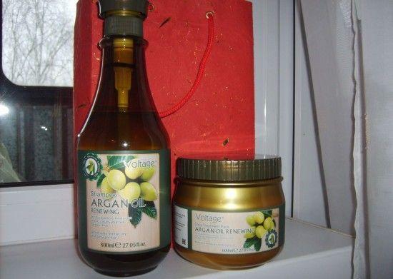 Маски з аргановою олією