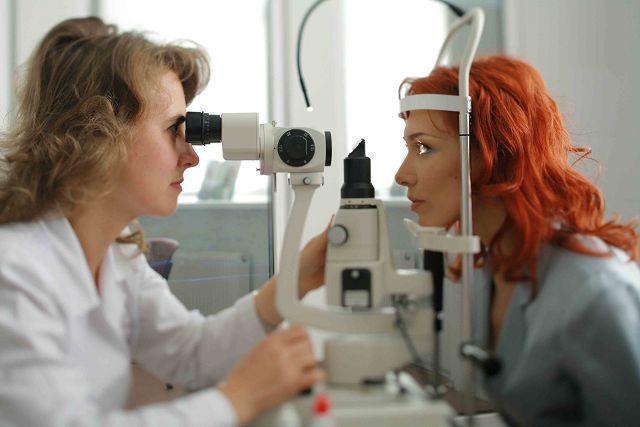Перевірка очного дна