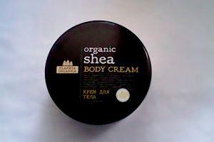 Organic Shea body cream