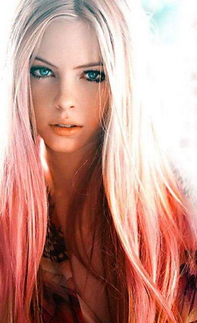 Балаяж на світле волосся