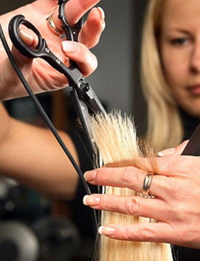 Оздоровлення волосся за допомогою стрижки гарячими ножицями