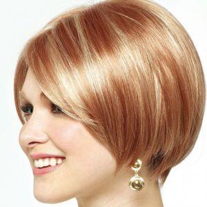 Зачіски на тонке волосся середньої довжини для круглого особи