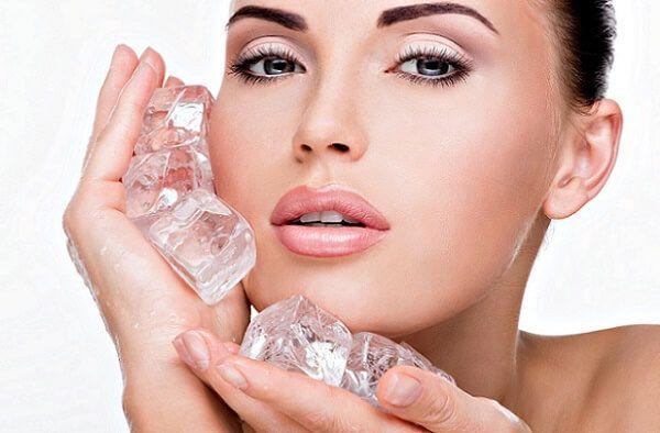Обробка шкіри льодом знизить біль