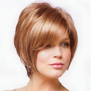 Стрижки для круглого особи на середні волосся жіночі