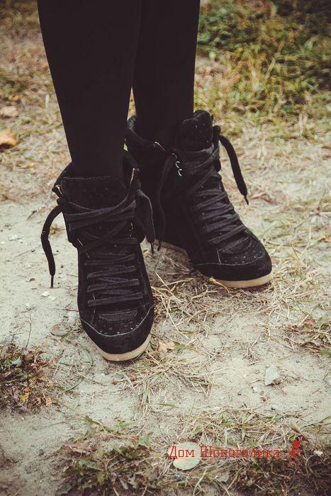 кросівки на платформі