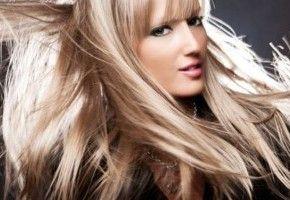 Пофарбовані пористі волосся
