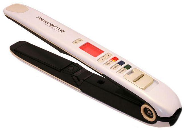 Прасування для волосся rowenta - техніка, доступна кожному
