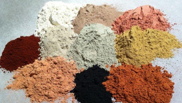 Вісім видів глини для лікування і зміцнення волосся