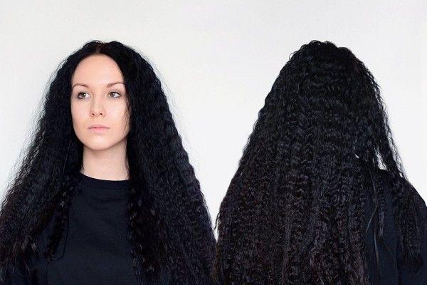 Завивка волосся без допомоги плойки або бігуді
